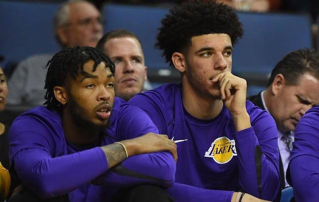 Lonzo Ball, Brandon Ingram, Lakers