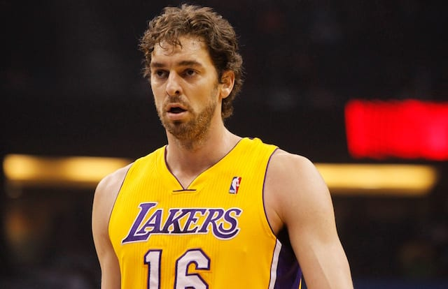 f7892e35f Pau Gasol Says It  Would Be A Huge Honor  If Lakers Retired His No ...