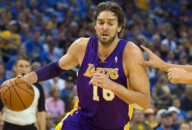 Pau Gasol, Los Angeles Lakers