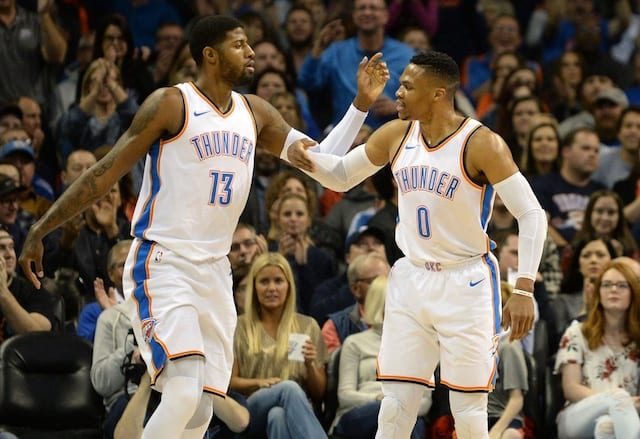 9213dac3c64 Paul George Says All-Star Game Support From Russell Westbrook Could ...