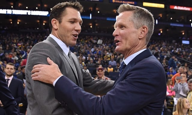 Luke Walton, Steve Kerr, Los Angeles Lakers