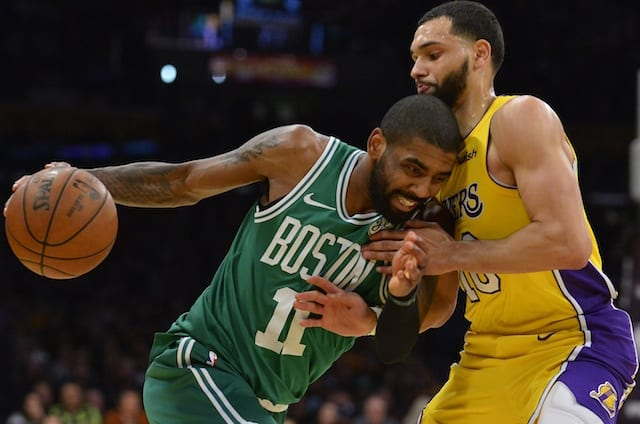 abee166a6da5 ESPN Summer Forecast Deems Lakers Among Likely Teams To Sign Kyrie Irving  In Free Agency