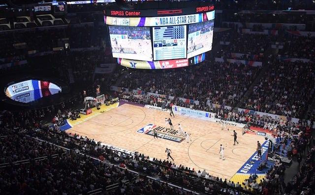 2018 NBA All-Star Game, Staples Center