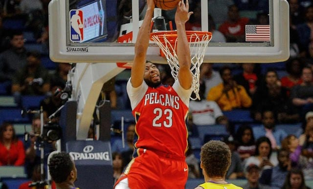Anthony Davis, Lakers, Pelicans
