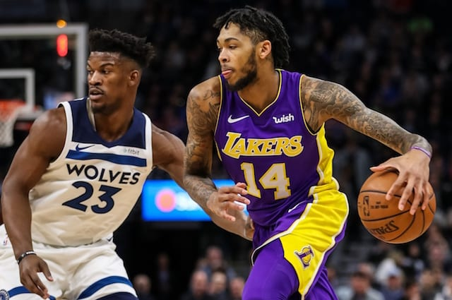 Brandon Ingram, Jimmy Butler, Lakers, Timberwolves