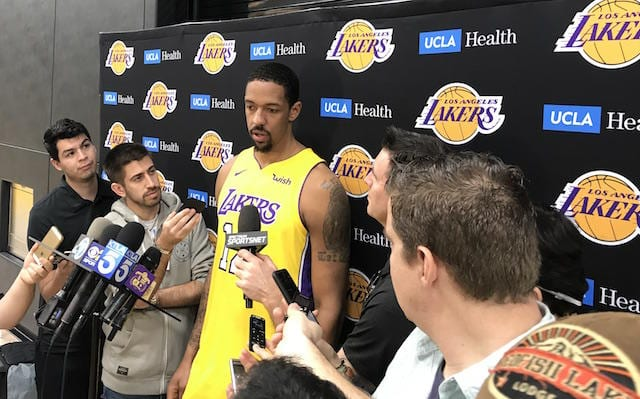 Channing Frye, Los Angeles Lakers