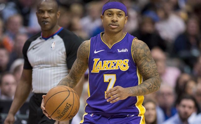 Isaiah Thomas, Lakers