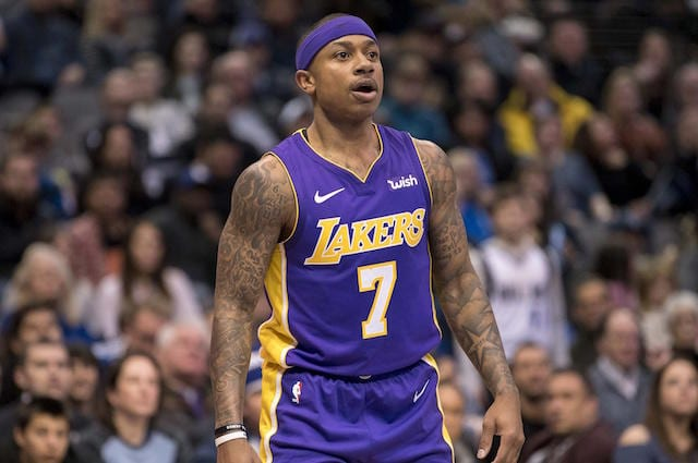 Isaiah Thomas, Los Angeles Lakers