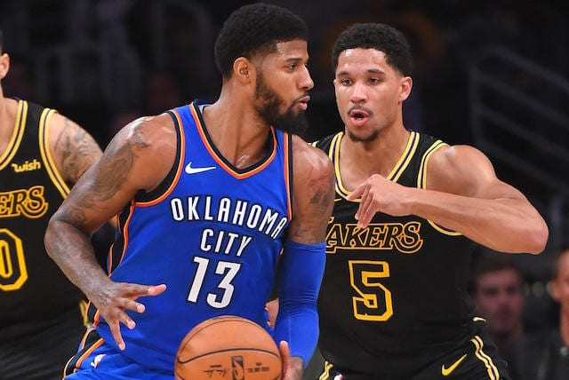 Paul George, Josh Hart
