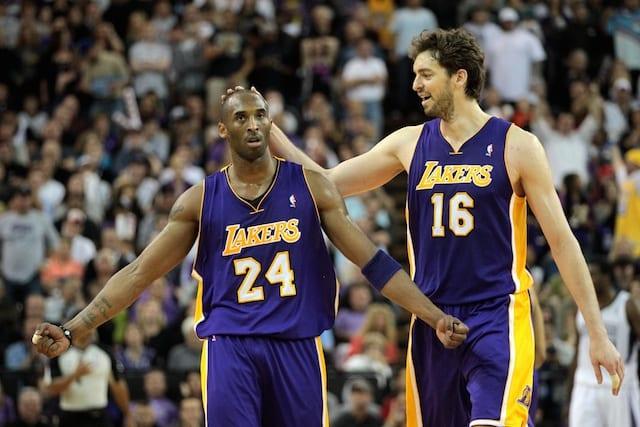 Kobe Bryant, Pau Gasol, Lakers