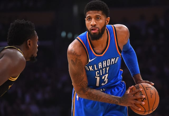 Paul George to sign with Thunder