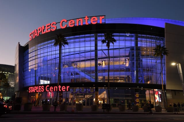 Staples Center, Lakers
