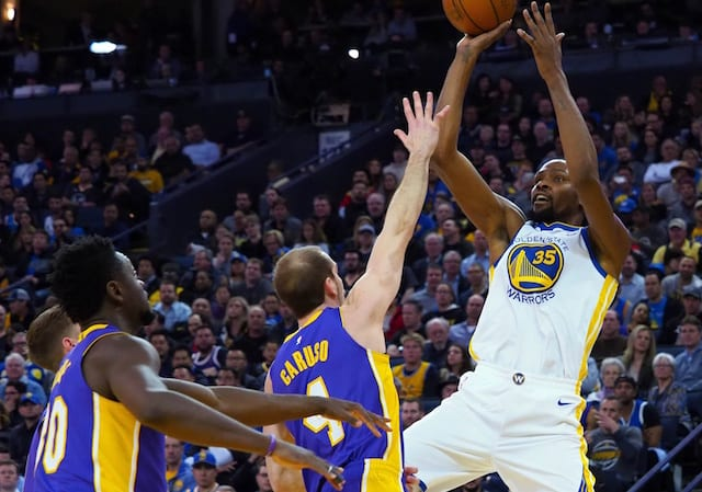 Lakers Rumors  Luol Deng Buyout Leaves Team Just Short In Salary Cap Space  To Offer Kevin Durant Max Contract In 2019 NBA Free Agency cad3f39d4