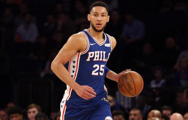 fed5cb5a3d3 Lakers Clarify Purported Contact Between Magic Johnson, 76ers' Ben Simmons