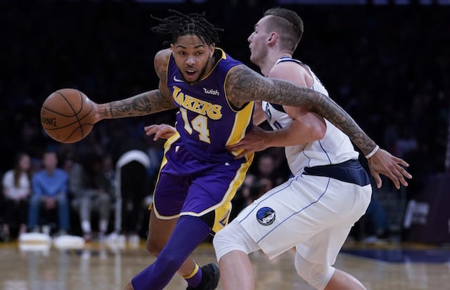 1c74700d00d9 Lakers News  Brandon Ingram Battled Some Anxiousness But Good In First Game  Back