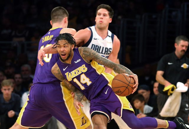 Brandon Ingram Ivica Zubac Los Angeles Lakers