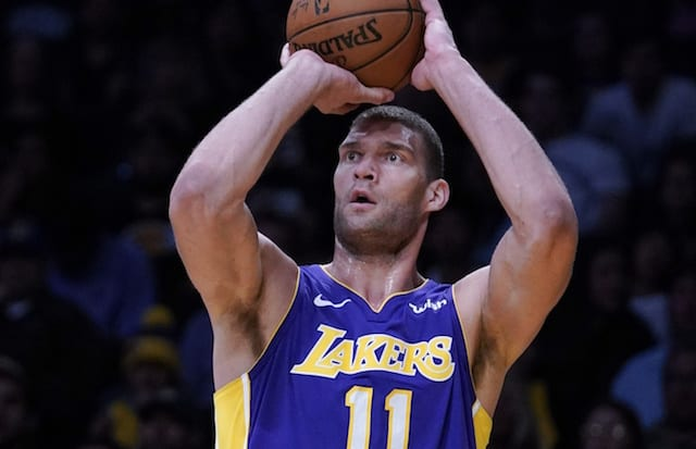 Lakers Free Agency Rumors  Brook Lopez A  Good Bet  To Re-Sign ... bed7bca3a