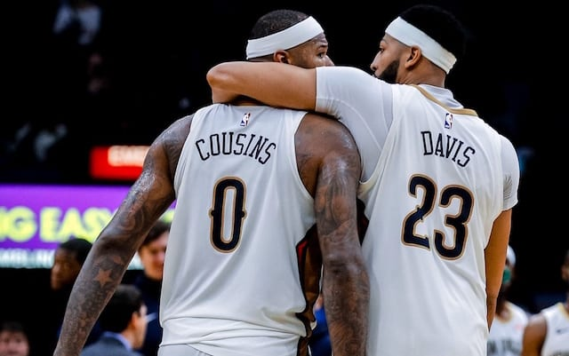 DeMarcus Cousins, Anthony Davis, Lakers