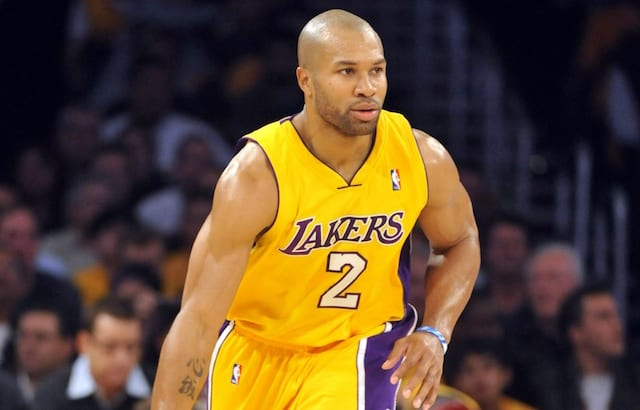0bc381931b4 This Day In Lakers History: Derek Fisher Proves Clutch In Nail-Biter  Against Spurs