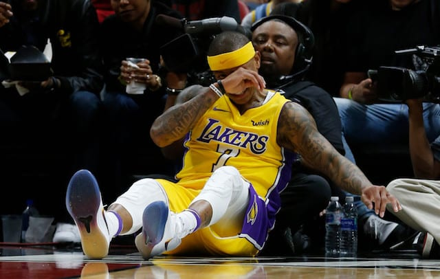 cf2593ff6400 Lakers Injury News  Isaiah Thomas Undergoing Arthroscopic Hip Surgery