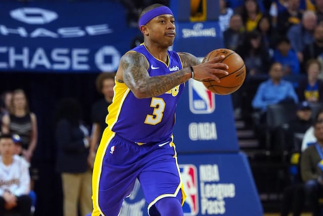 e6bc8e78f520 Lakers Free Agent Isaiah Thomas Open To Re-Uniting With DeMarcus Cousins
