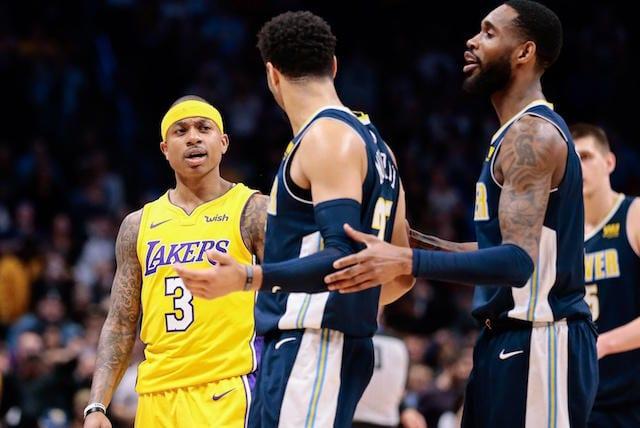 Isaiah Thomas, Jamal Murray, Lakers, Nuggets