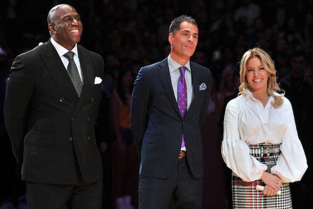 Jeanie-buss-magic-johnson-rob-pelinka-640x428