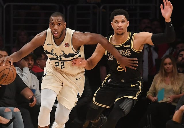 NBA Rumors  Reluctance To Play Alongside LeBron James May Force Lakers To  Look At Second-Tier Free Agents Such As Khris Middleton ff25490b6