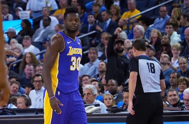 6a86a05176ee Lakers News  Julius Randle Calls Altercation With Isaiah Thomas  Great .  Kelley L Cox-USA TODAY Sports