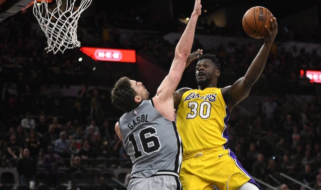 Julius Randle, Pau Gasol, Lakers, Spurs