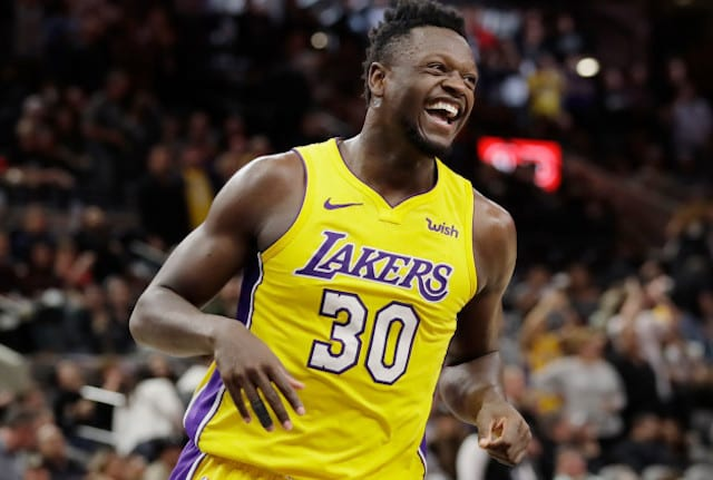 Julius Randle an unrestricted free agent after Lakers renounce his rights