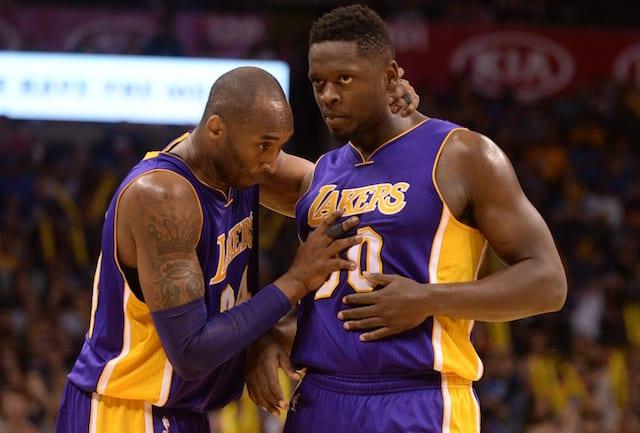 Julius Randle, Los Angeles Lakers, Kobe Bryant
