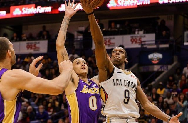Kyle Kuzma, Brook Lopez, Lakers, Pelicans