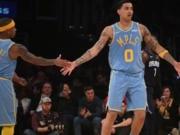 Kyle Kuzma, Isaiah Thomas, Lakers