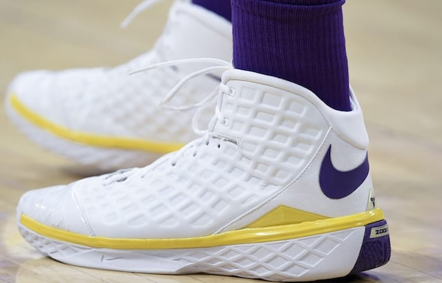 cec47c3059b Lakers News  Kyle Kuzma Thankful For Ambassador Deal With GOAT But Wishes  He Wore Smaller Shoe Size