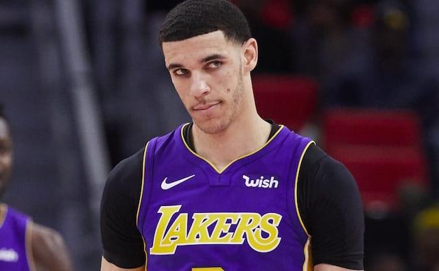 The Lakers Announced Lonzo Ball Will Undergo Arthroscopic Knee Surgery