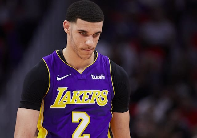 Lakers' Lonzo Ball reportedly has a torn meniscus