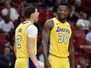Lonzo Ball, Julius Randle, Lakers