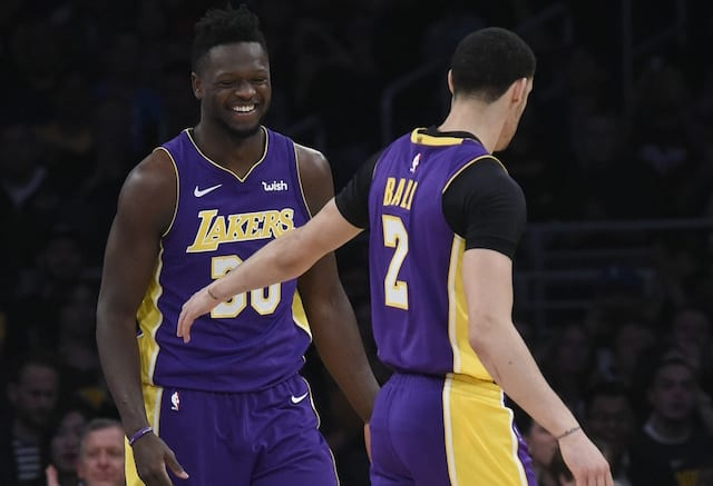 Lonzo Ball, Julius Randle, Los Angeles Lakers