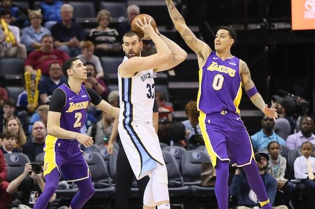 Lakers News: Lonzo Ball Says He And Kyle Kuzma Share Goal Of