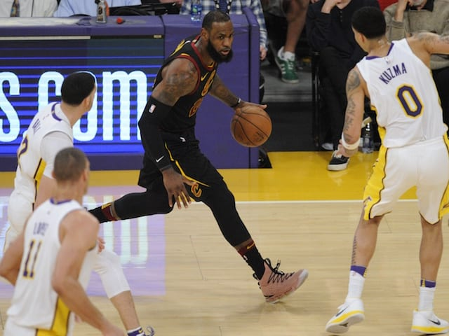 54c8496488aa NBA Free Agency News  Lakers Have Best Odds To Sign LeBron James After 2018  NBA Draft