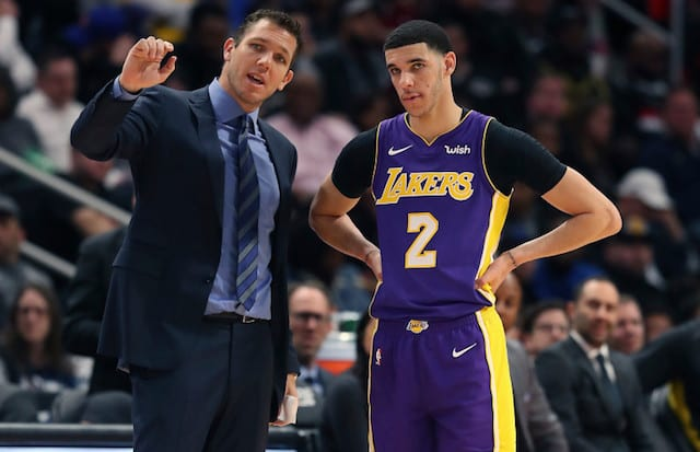 Luke Walton, Lonzo Ball, Lakers