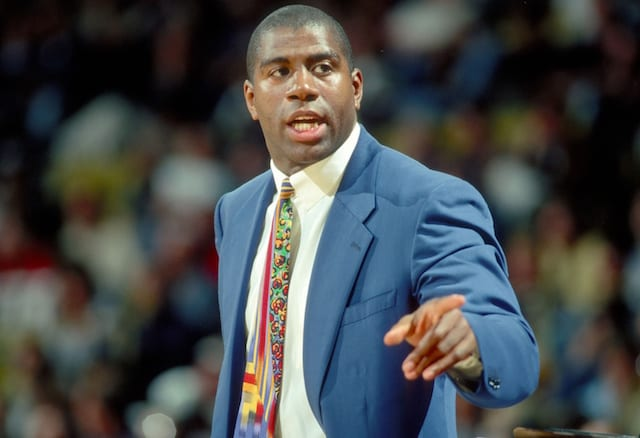 Magic Johnson, Los Angeles Lakers