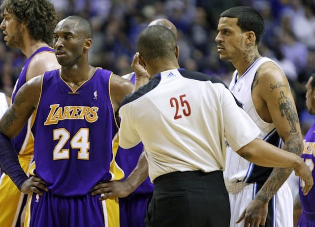 Matt Barnes, Kobe Bryant, Lakers