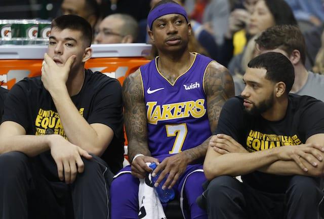 Tyler Ennis, Isaiah Thomas, Ivica Zubac, Lakers