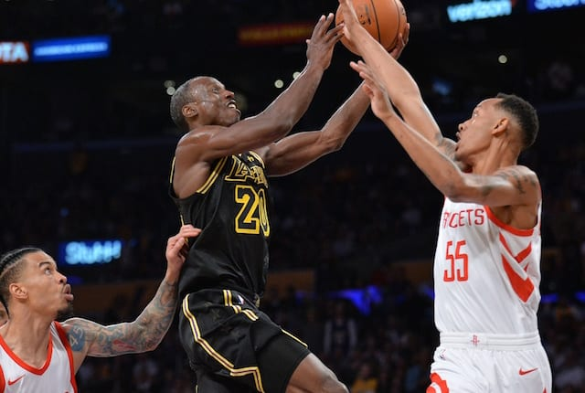 e67679128bf Kobe Bryant, Lonzo Ball, Brandon Ingram And More Impressed By Incredible  NBA Debut Of Lakers Rookie Andre Ingram