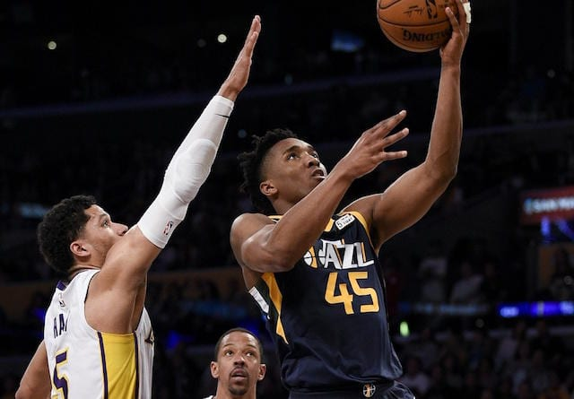 Donovan Mitchell, Lakers