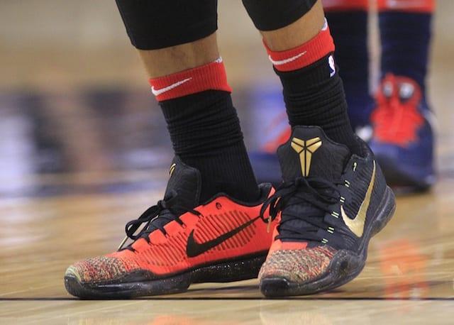 2018 NBA Playoffs Photos: Raptors' DeMar DeRozan Wears Kobe 7 Fade To Black, Kobe X Elite Low ...
