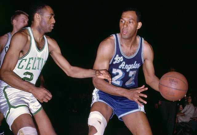 Elgin Baylor, Lakers, Celtics