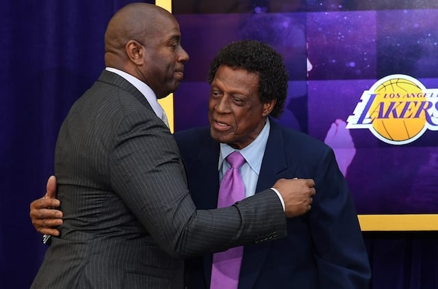 38f47146a36b Magic Johnson Lauds Lakers Legend Elgin Baylor For Doing Things He ...